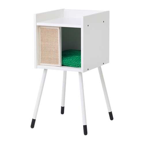 lurvig-cat-house-on-legs-with-pad-green__0537208_PE650938_S4